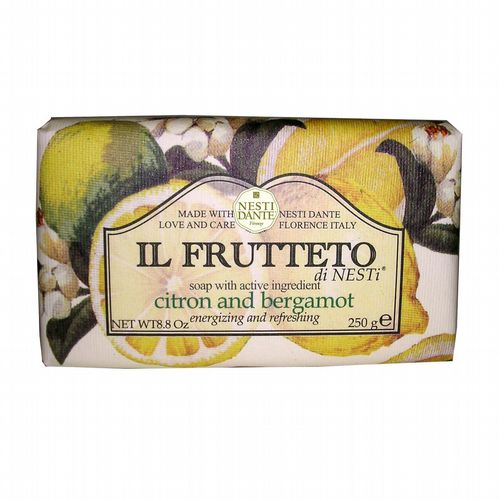 Nesti Dante Soap- Il Frutteto - Citron and Bergamot